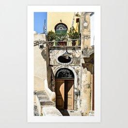 Procida #3 Art Print