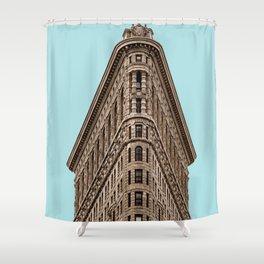 Flatiron Building in New York Shower Curtain