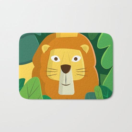 King of the Jungle Bath Mat