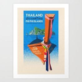 Thailand - Phi Phi Islands Art Print
