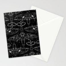 Spitfire Mk. XIV (white) Stationery Cards
