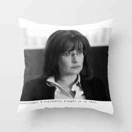 melfi one Throw Pillow