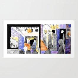 Earthling Ghetto Art Print