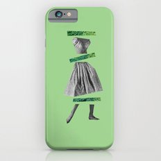 Girly Green Slim Case iPhone 6s