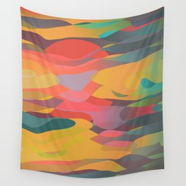 Fairytale Sunset Wall Tapestry