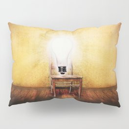 The Seat of Big Ideas Pillow Sham