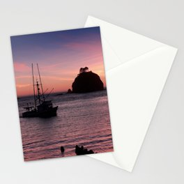 Sunset at First Beach - La Push Stationery Cards