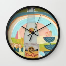 Topo Chico Land Wall Clock