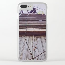 Ladder Slats to Heaven Clear iPhone Case