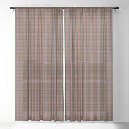 Kidd Tartan Plaid Sheer Curtain