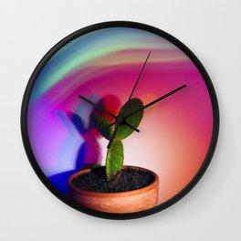 Supercolor Cactus Wall Clock