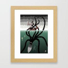 A Rational Explanation Framed Art Print