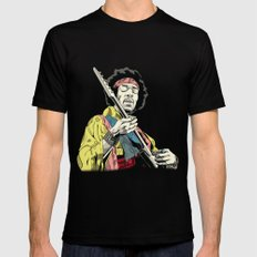 Hendrix 2X-LARGE Mens Fitted Tee Black