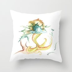 Fishing for inspiration Throw Pillow