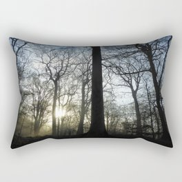Forrest Morning Mist Rectangular Pillow