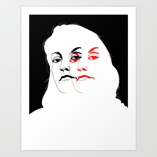 Who is Laura Palmer? Art Print