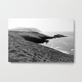 Mynydd Anelog & Dinas Fawr (Anelog Mountain & Big Fort) - North Wales Coast Metal Print