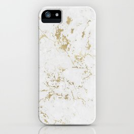 Marble Gold Mine iPhone Case