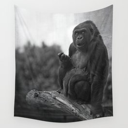 Asante The Western Lowland Gorilla Wall Tapestry