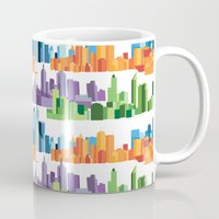 cities Mugs featuring Australian Cities by S. Vaeth