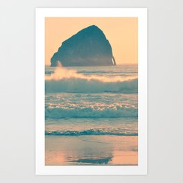 CAPE KIWANDA - OREGON Art Print