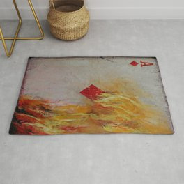 Ace of Diamonds Rug