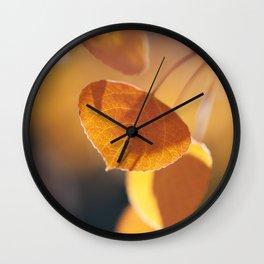 Aspen Embers Wall Clock