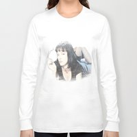pulp fiction Long Sleeve T-shirts featuring Pulp Fiction by EclipseLio