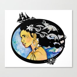 Pirate Nereid - Color Canvas Print