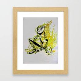 ÁMBAR Framed Art Print