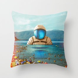 The Social Attempt Throw Pillow