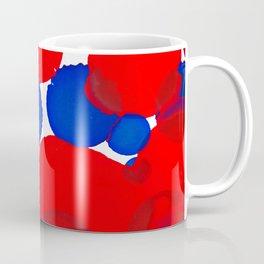 Blue Meets Red Coffee Mug