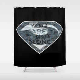 General Zod Shower Curtain