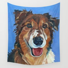 Myles the Dog Wall Tapestry