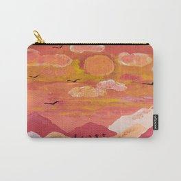 Mountains at day Carry-All Pouch