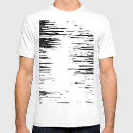 Splash Black and White T-shirt