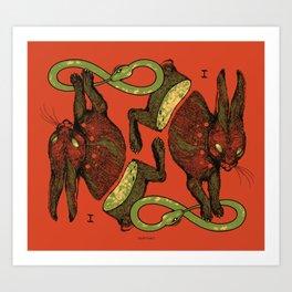 THE MAGICIAN (COLOR) Art Print