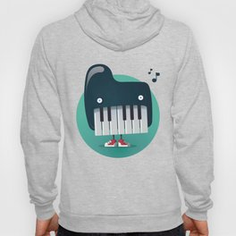 Piano Monster Hoody