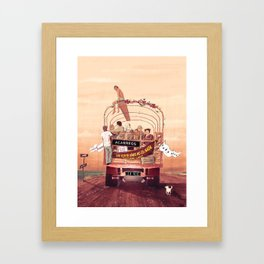 La Vie Framed Art Print