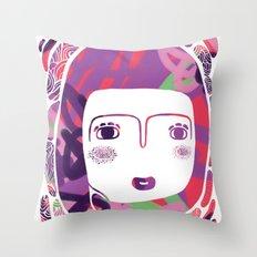 Protect_WHITE Throw Pillow
