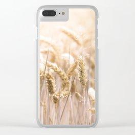 Summer Sun Corn Clear iPhone Case