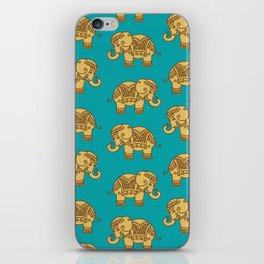 Elephant Pattern iPhone Skin