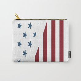 Firefighter USA Flag Carry-All Pouch