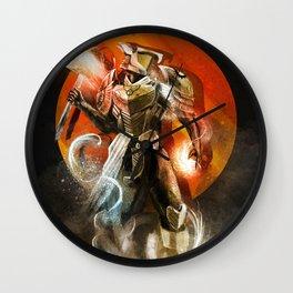 Destiny 2 inspired titan fan art design Wall Clock