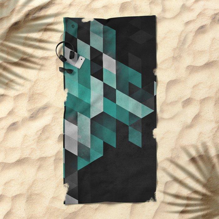 dryma mynt Beach Towel