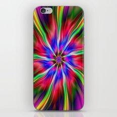 Swirling  Star iPhone & iPod Skin