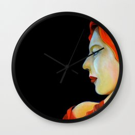 LA BELLADONNA Wall Clock