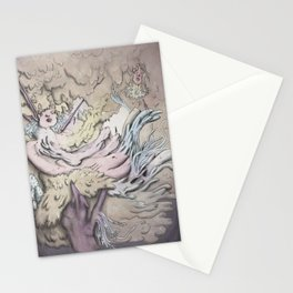 Surreal tree Stationery Cards
