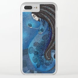 The Seal Woman Clear iPhone Case