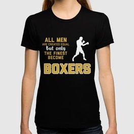 Funny Boxer Shirt T-shirt